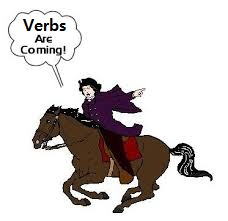 verbs coming