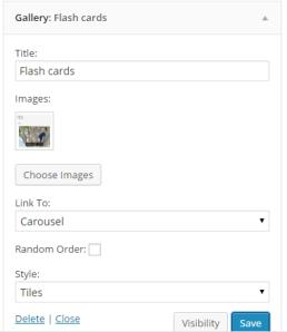 Flashcards on Hanguk Babble Homepage