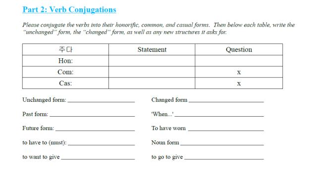 give conjugate