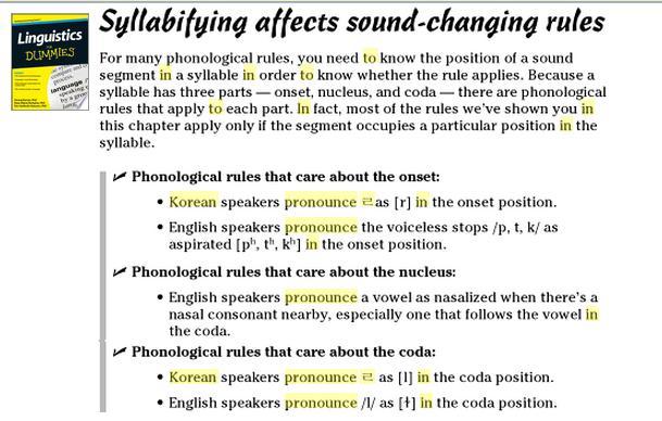 LinguisticsForDummies