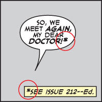 ASTERISK An editor's note