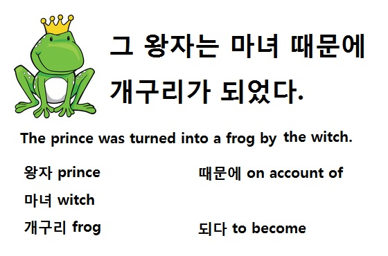 Handsome Frog Prince Wearing a Crown Clipart Graphic Illustration