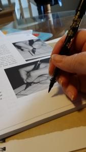 pen-like grip
