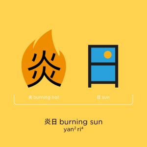 Chineasy_Phrases_BurningSun