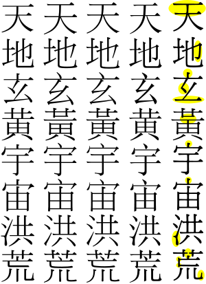 Chinese_standard_variants