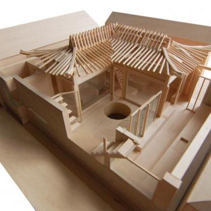 hanok_model_wood