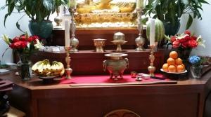 Providence Zen center altar