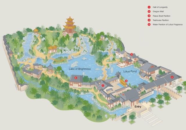 friendship garden map